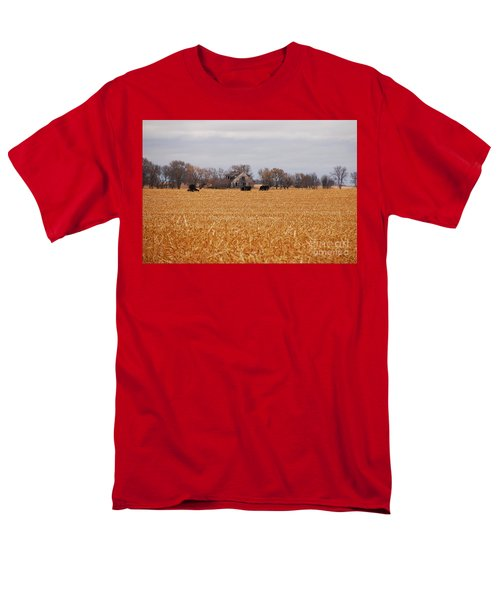 Cows In The Corn Men's T-Shirt  (Regular Fit) by Mary Carol Story
