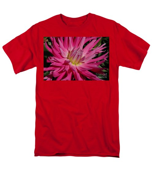 Men's T-Shirt  (Regular Fit) featuring the photograph Dahlia X by Christiane Hellner-OBrien