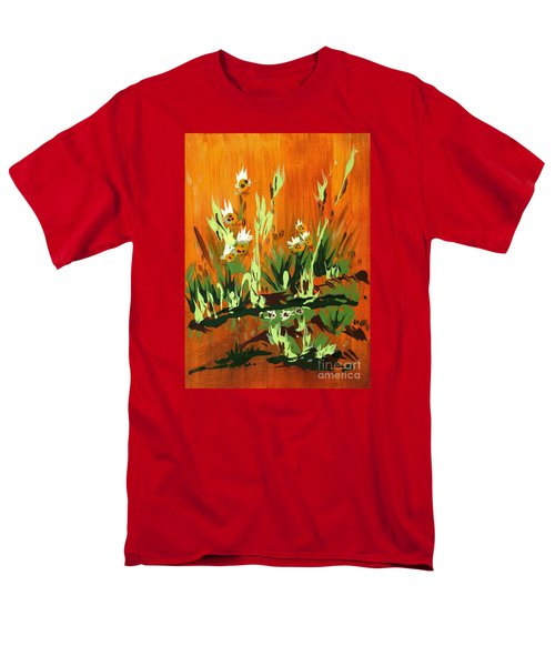 Men's T-Shirt  (Regular Fit) featuring the painting Darlinettas by Holly Carmichael