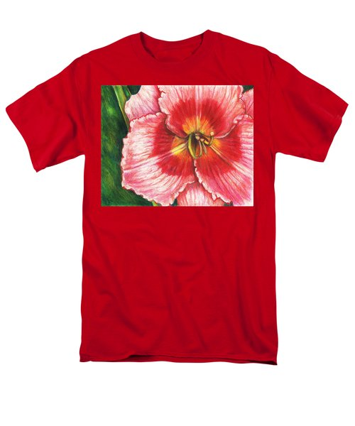 Daylily Delight Men's T-Shirt  (Regular Fit) by Shana Rowe Jackson