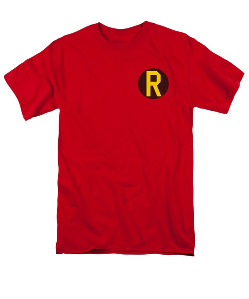 Dc - Robin Logo Men's T-Shirt  (Regular Fit) by Brand A