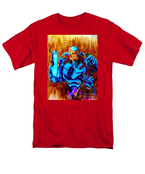 Death's Head II Men's T-Shirt  (Regular Fit) by Justin Moore