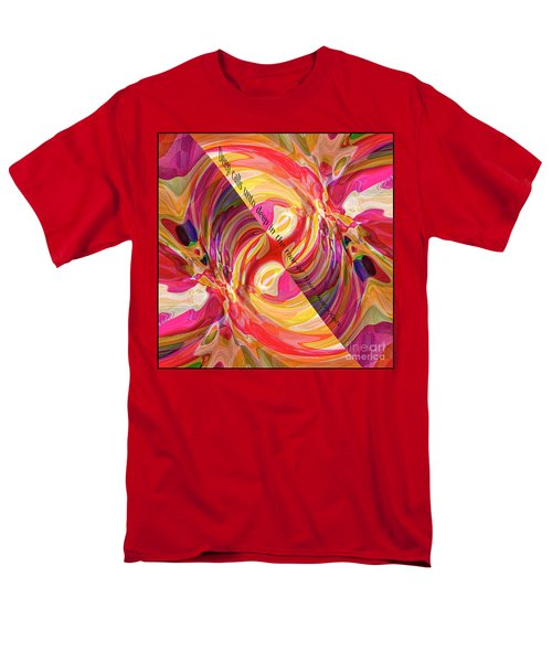 Men's T-Shirt  (Regular Fit) featuring the digital art Deep Calls Unto Deep by Margie Chapman