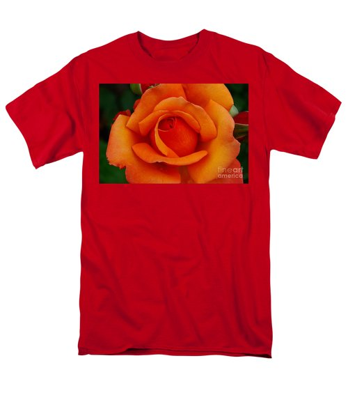 Men's T-Shirt  (Regular Fit) featuring the photograph Detail In Orange by John S