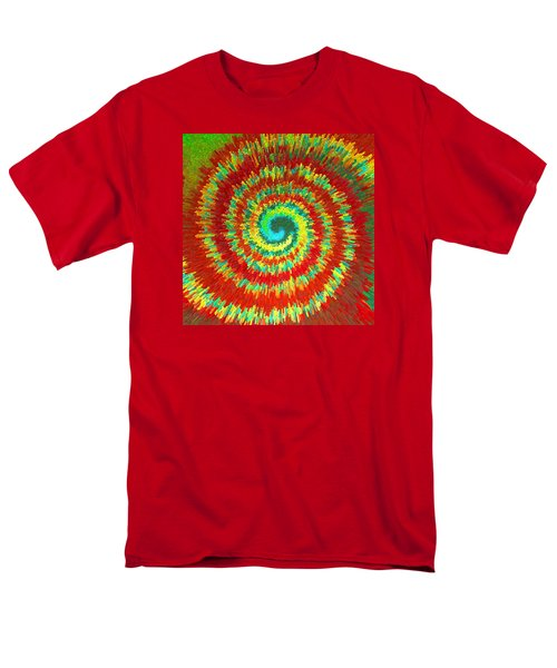 Double Spiral  C2014 Men's T-Shirt  (Regular Fit) by Paul Ashby