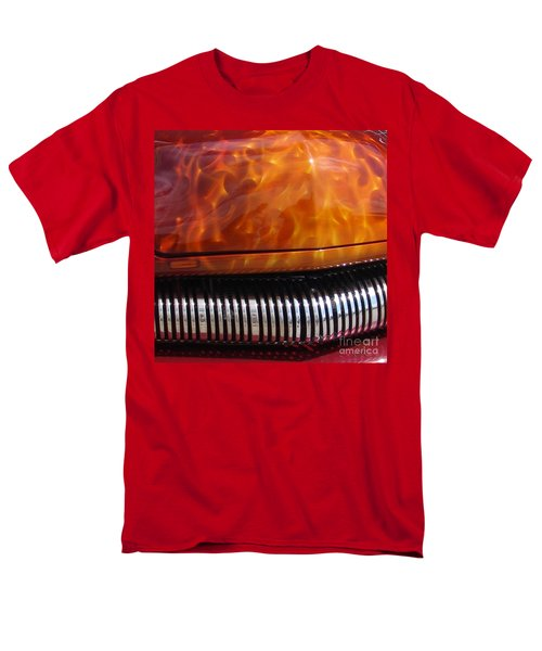 Flame Rod 1 Squared Men's T-Shirt  (Regular Fit) by Chris Thomas