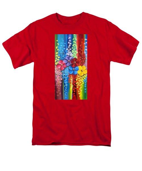 Flower Shower Men's T-Shirt  (Regular Fit) by Katia Aho