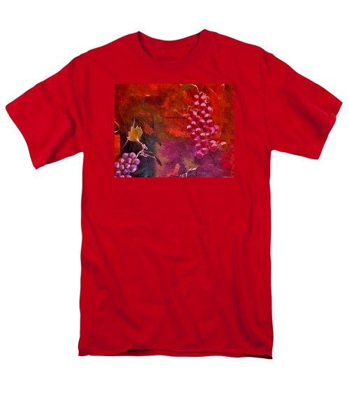 Flying Grapes Men's T-Shirt  (Regular Fit) by Lisa Kaiser