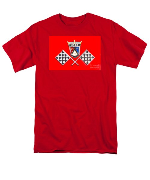 Ford Emblem Men's T-Shirt  (Regular Fit) by Jerry Fornarotto