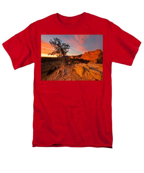 Garden Sunrise Men's T-Shirt  (Regular Fit) by Ronda Kimbrow