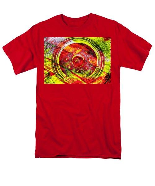 Geometric Colors  Men's T-Shirt  (Regular Fit) by Prakash Ghai