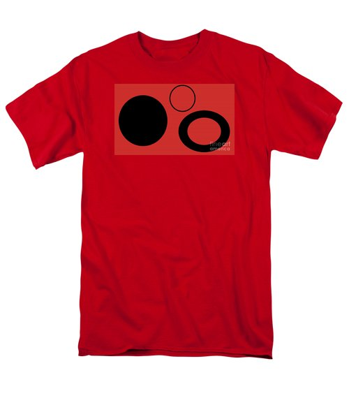 Men's T-Shirt  (Regular Fit) featuring the photograph Geometric Shape Abstract 37 by Tina M Wenger