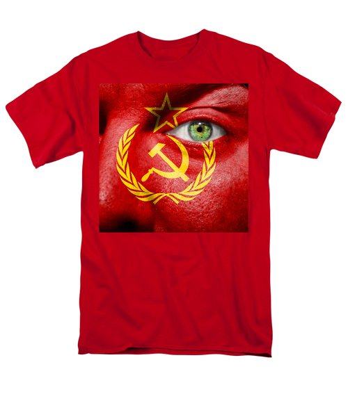 Go Ussr Men's T-Shirt  (Regular Fit) by Semmick Photo
