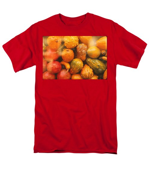 Men's T-Shirt  (Regular Fit) featuring the photograph Gorgeous Gourds by Ira Shander