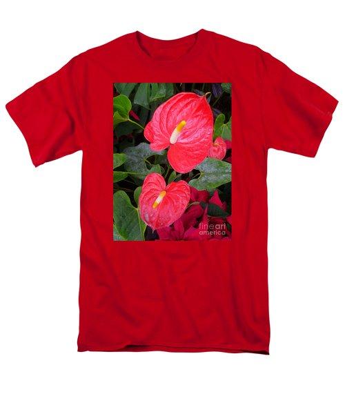 Heart To Heart Men's T-Shirt  (Regular Fit) by Lingfai Leung