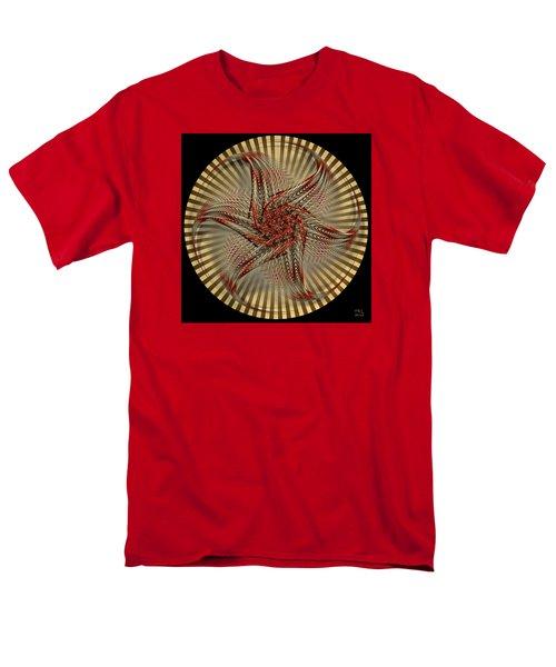 Men's T-Shirt  (Regular Fit) featuring the digital art Hexagramma by Manny Lorenzo