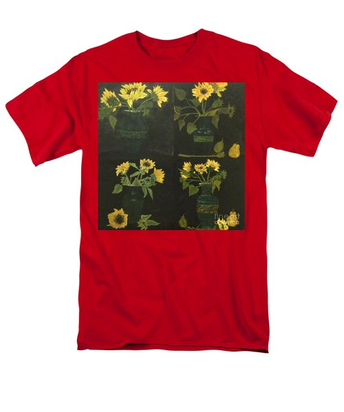 Men's T-Shirt  (Regular Fit) featuring the painting Hirasol by Vanessa Palomino