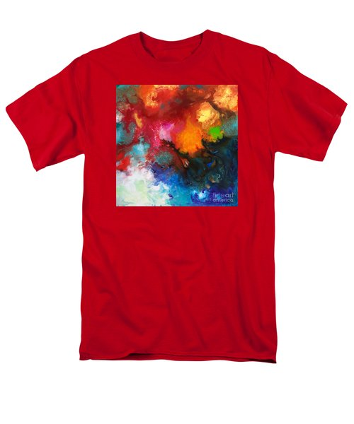 Holding The High Watch Canvas Three Men's T-Shirt  (Regular Fit) by Sally Trace