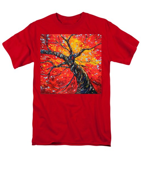 Men's T-Shirt  (Regular Fit) featuring the painting In Your Light by Meaghan Troup