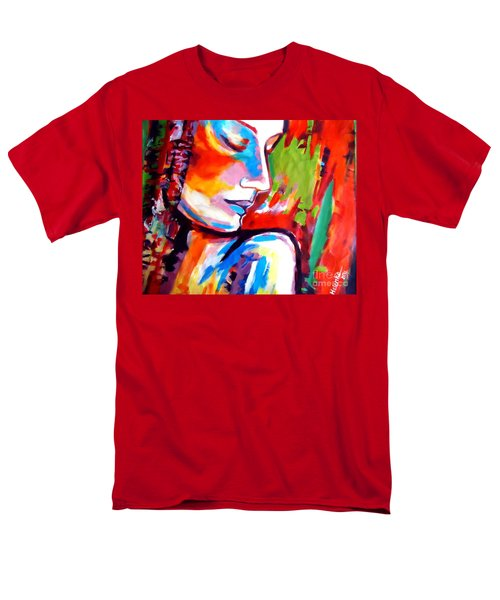 Men's T-Shirt  (Regular Fit) featuring the painting Insight by Helena Wierzbicki