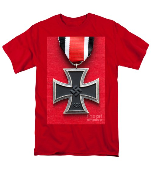 Iron Cross Medal Men's T-Shirt  (Regular Fit) by Lee Avison