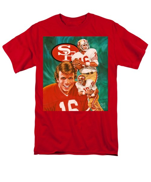 Joe Montana Men's T-Shirt  (Regular Fit)