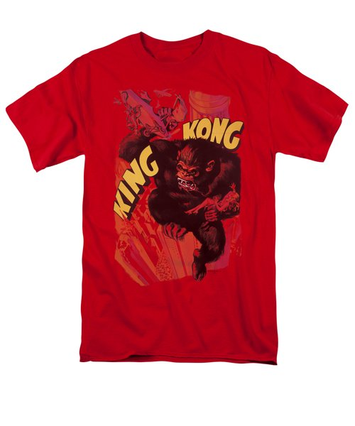 King Kong - Plane Grab Men's T-Shirt  (Regular Fit)