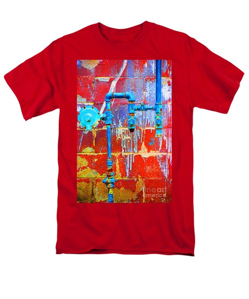 Men's T-Shirt  (Regular Fit) featuring the photograph Leaky Faucet by Christiane Hellner-OBrien