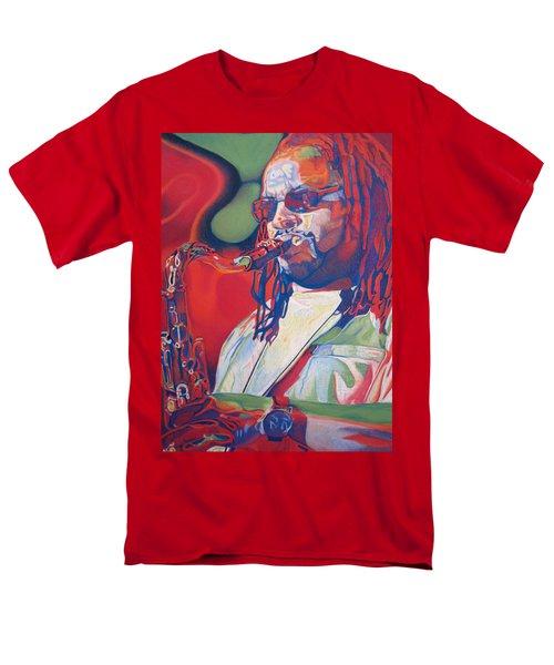 Leroi Moore Colorful Full Band Series Men's T-Shirt  (Regular Fit) by Joshua Morton