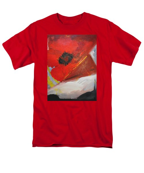 Men's T-Shirt  (Regular Fit) featuring the painting Ode Of Remembrance by Evelina Popilian