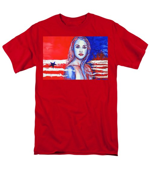 Liberty American Girl Men's T-Shirt  (Regular Fit)