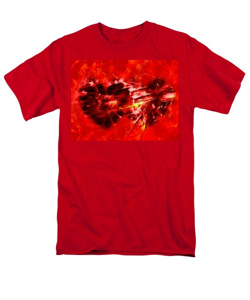 Men's T-Shirt  (Regular Fit) featuring the photograph Love Opening by Kathy Bassett