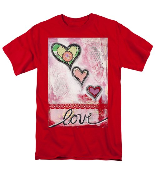 Love  Men's T-Shirt  (Regular Fit) by Stanka Vukelic