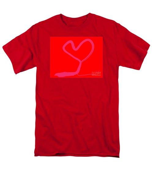 Men's T-Shirt  (Regular Fit) featuring the painting Love Tree by Go Van Kampen