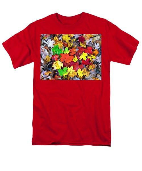 Men's T-Shirt  (Regular Fit) featuring the photograph Maple Carpet by Jackie Carpenter