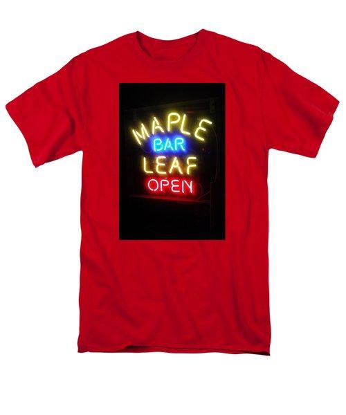 Maple Leaf Bar Men's T-Shirt  (Regular Fit) by Deborah Lacoste