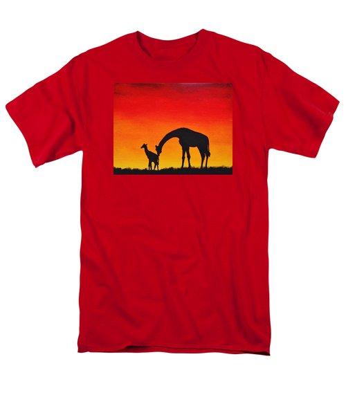Mother Africa 2 Men's T-Shirt  (Regular Fit) by Michael Cross