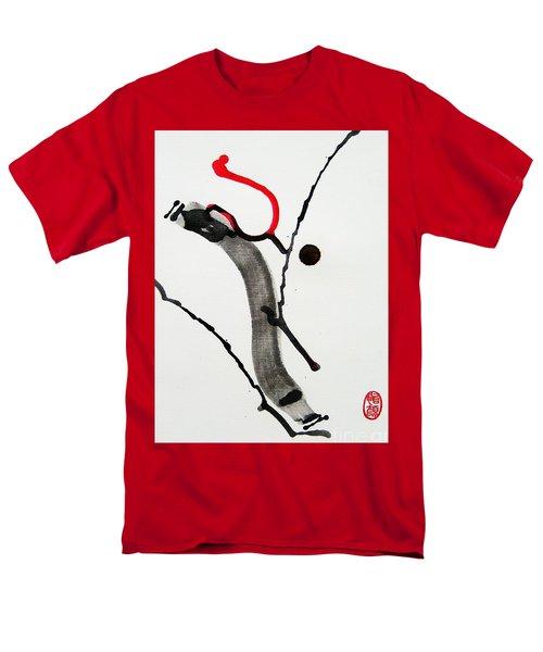 Men's T-Shirt  (Regular Fit) featuring the painting Muga No Genri Ni by Roberto Prusso