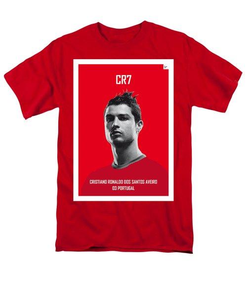 My Ronaldo Soccer Legend Poster Men's T-Shirt  (Regular Fit) by Chungkong Art