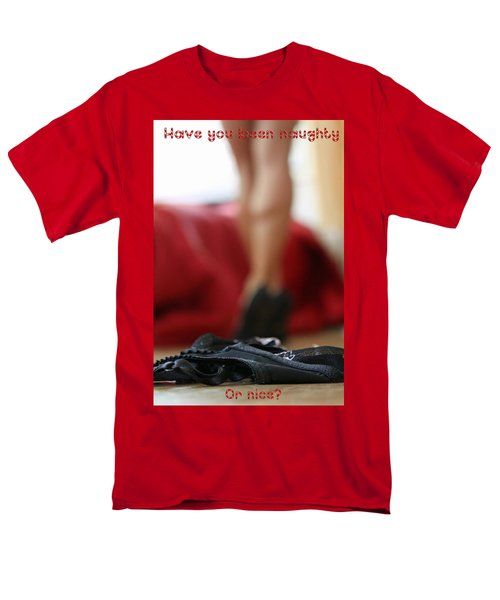 Naughty Or Nice Men's T-Shirt  (Regular Fit) by Shoal Hollingsworth