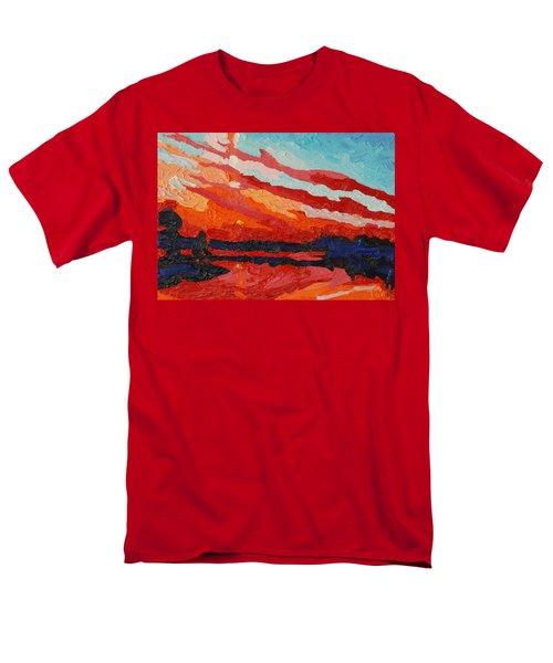 November Sunset Men's T-Shirt  (Regular Fit) by Phil Chadwick
