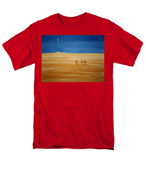 Oh Holy Night Men's T-Shirt  (Regular Fit) by Stacy C Bottoms