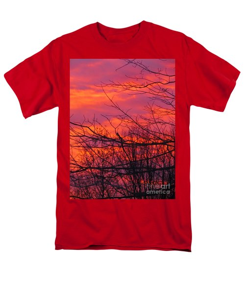 Oh What A Beautiful Morning Men's T-Shirt  (Regular Fit) by Elizabeth Dow