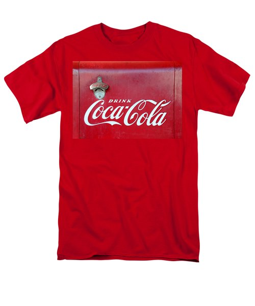 Open The Real Thing Men's T-Shirt  (Regular Fit) by David Lee Thompson