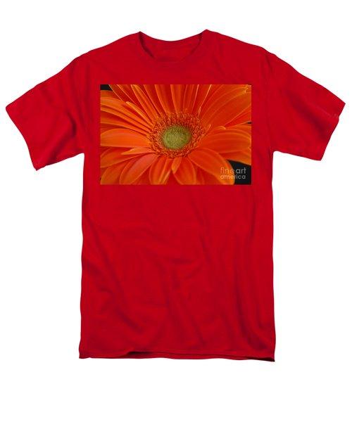 Men's T-Shirt  (Regular Fit) featuring the photograph Orange Gerber Daisy by Patrick Shupert