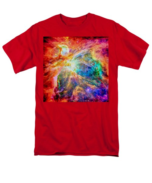 Orions Heart-where The Stars Are Born Men's T-Shirt  (Regular Fit) by Eti Reid