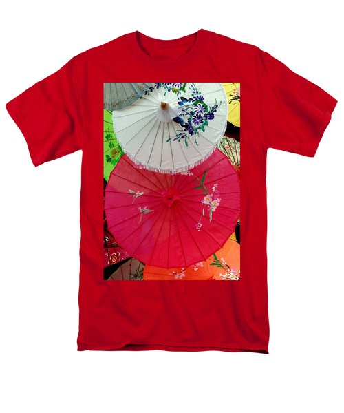 Parasols 1 Men's T-Shirt  (Regular Fit) by Rodney Lee Williams