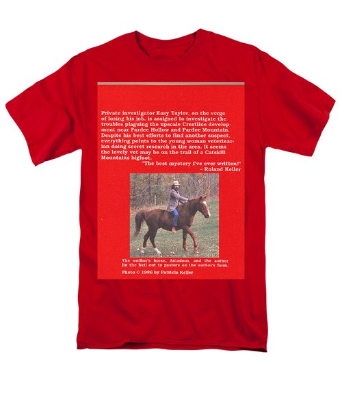 Pardee Holler The Back Cover Men's T-Shirt  (Regular Fit) by Patricia Keller