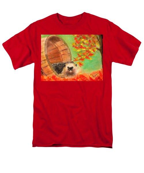 Peevish Porcupine Men's T-Shirt  (Regular Fit) by Renee Michelle Wenker