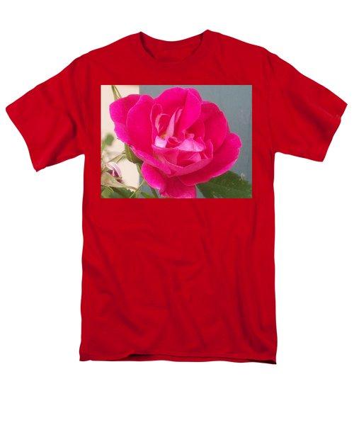 Pink Rose Men's T-Shirt  (Regular Fit) by Jewel Hengen